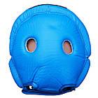 Шлем боксерский FIREPOWER FPHG2 Blue, фото 4