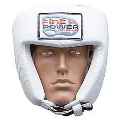 Шлем боксерский FIREPOWER FPHG2 White