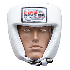 Шолом боксерський FIREPOWER FPHG2 White