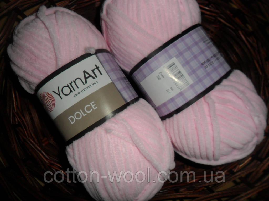 Yarnat Dolce  (Ярнарт Дольче) 750 толстый плюш