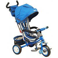 Велосипед 3-х колёсный Baby mix  со звонком синий