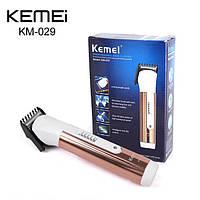 Триммер Kemei KM-029 для бороды и усов , триммер, машинка для стрижки бороды, красота и здоровье