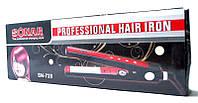 Утюжок для волос  Sonar SN-728 , с регулятором температуры, шипцы, выпрямитель, плойка, керамика