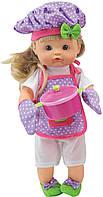 Говорящая кукла BAMBOLINA - НЕНА ШЕФ-ПОВАР (озв. укр.яз.,42 см, пьет, мочит подгузник, с аксессуар.)