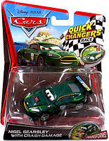 Игрушечная машинка Cars 2 Quick Cgange Nigel Gearsley Mattel