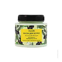 Маска «Восстанавливающая» для ломких волос с оливковым маслом и протеинами пшеницы серии «Olive»