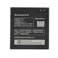 Аккумулятор для Lenovo A398T, аккумуляторная батарея (акб BL209 )