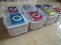 Мр3 плеер дизайн iPod Shuffle + наушники + кабель + коробка
