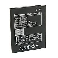 Аккумулятор для Lenovo S920, аккумуляторная батарея (АКБ Lenovo BL228 orig)