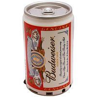 """Мp3 колонки """"Budweiser""""с ФМ,  портатиная аудиотехника, электроника, колонки, оригинальный подарок, банка пива"""