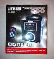 Радиоприемник Alfa Sonic AS-8937, mp3 колонка, портативная аустика, аудиотехника, приемник радио