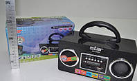 Радиоприемник Star SR-8962, с аккумулятором, mp3, sd, aux, пульт, портативная акустика, аудиотехника