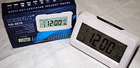 Настільні електронні годинник, термометр, календар КК 2616, фото 1