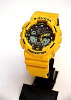 Наручные часы Casio G-Shock WR20M (желтые), спортивные,мужские часы, электронные, made in Japan