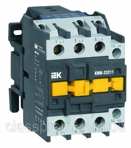 Контактор КМИ-23211 32А 380В/АС3 1р (НЗ) IEK