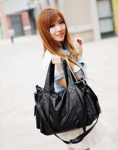 Объемная женская сумка