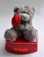 Мишка Тедди с розой Me to you