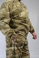 Костюм флисовый мужской камуфлированный р. 52-54 рост 5-6, фото 1