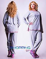 Женская пижама больших размеров