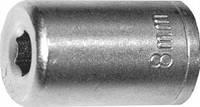 Головка торцевая, 6-гранная, 8 мм, CrV, оцинкованная// SPARTA 136115