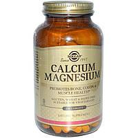 Кальций и магний, 250 таблеток Solgar