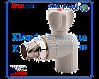 Кран радиаторный угловой с антипротечкой 20х1/2 ASG-Plast (Чехия)