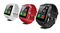 Многофункциональные часы Smart watch U8, умные часы, блютуз, хит продаж!!