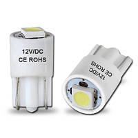 Светодиодная автолампа Т10, 1pcs 5050 White (Precision)