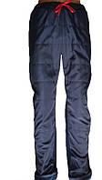 Мужские теплые брюки на флисе и трех ниткой