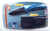 Нож складной 856, с клипсой + чехол , рыбацкий, для туризма