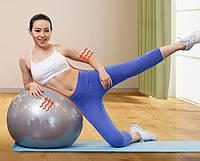 Гимнастический мяч для фитнеса Gymnastic Ball 30'' (75см), фитбол,