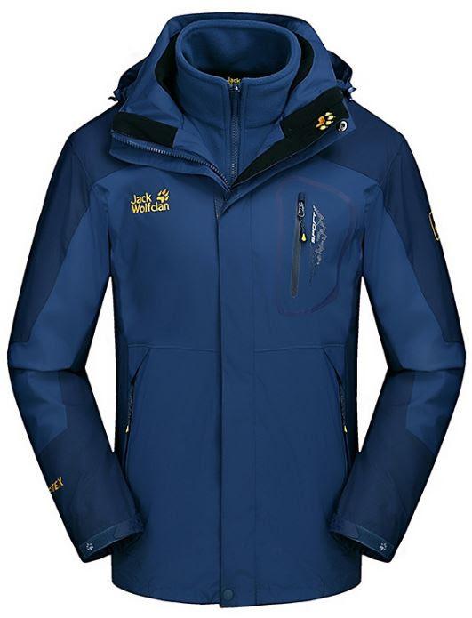 c7984fcc25745 Мужская куртка 3 в 1 JACK WOLFCLAN. Зимние куртки мужские. Куртки ...
