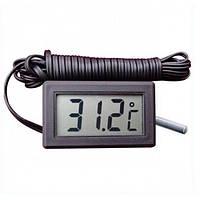 Термометр с выносным датчиком, электронный