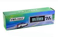 Автомобильные часы с термометром vst-7067, аксессуар для салона, товары для автолюбителей