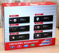 Автомагнитола JD-344 usb, mp3, sd aux, автомобильная электроника, автотовары, автоакустика