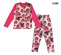 """Пижама """"Розы"""" для девочки. 2, 4 года, фото 1"""