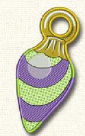 Полотенце с петелькой Сосулька  (40*70 для рук), фото 1