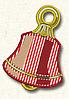 Полотенце с петелькой Колокольчик (40*70 для рук)