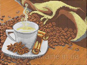 """Схема для вышивки бисером """"Ароматный кофе"""""""