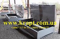 Технологический колодец двойной с алюминиевой крышкой к Резервуар