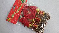 Набор новогоднего декора (14 предметов)