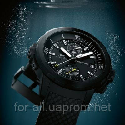 новости часы, Aquatimer от IWC, Aquatimer Chronograph Edition «Galapagos Islands»