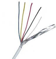 Кабель сигнальный VK Cable  4x0,22 в экране 100м.