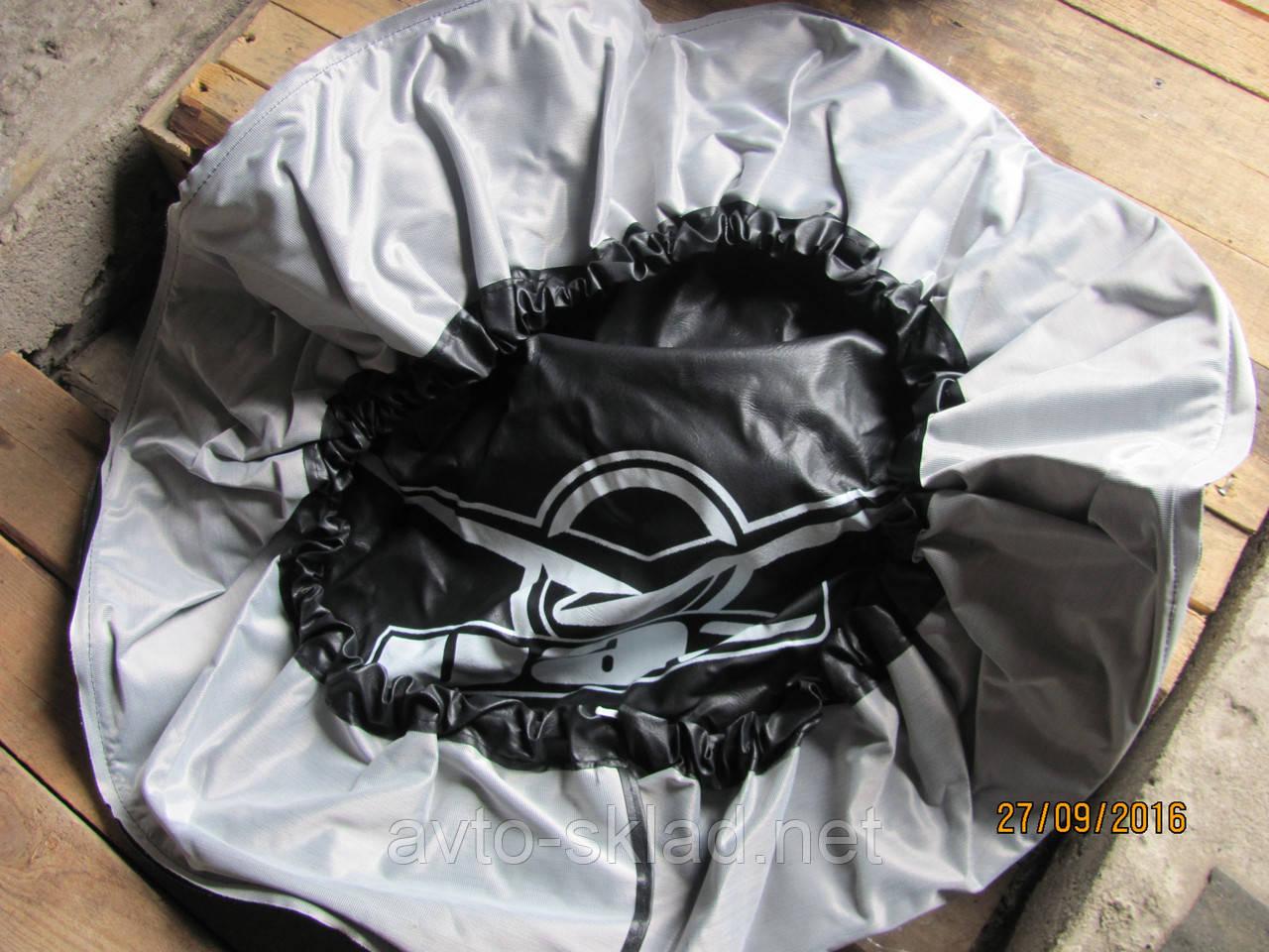 Чехол на запаску УАЗ кожа R16 R17 R18 R 19