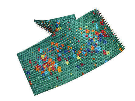 Аппликатор Ляпко - 6,2 Квадро, 12 x 47 см., фото 2