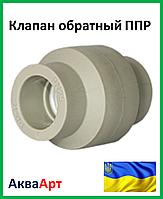 Обратный клапан 25 ппр (Украина)