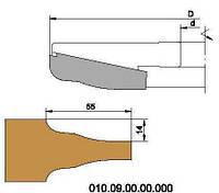 Фреза для обработки дверной филенки, с мех. креплением ножей HSS D200-d32-B30.7-z4