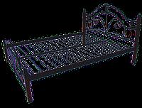 """Металлическая кровать """"Диана"""" на деревянных ножках"""