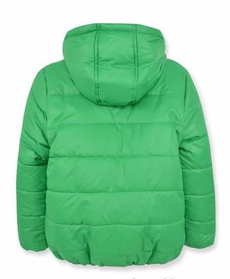 Детская зимняя куртка на мальчика зеленая,. р.98,116, фото 2