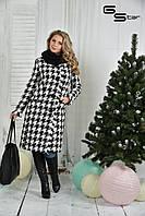 Демисезонное  женское пальто батал   с 50  по 74 размер